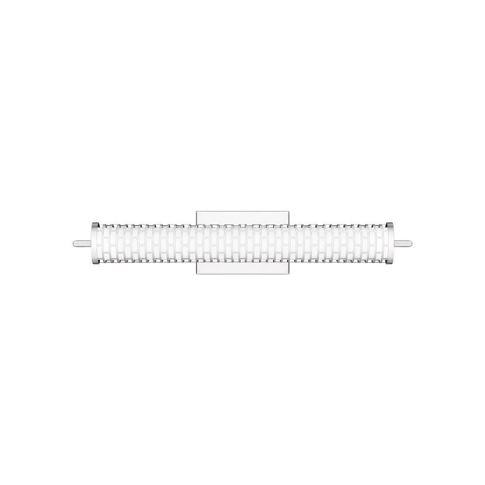 Quoizel Effie Polished Chrome LED 20W Bath Light (Polished Chrome)