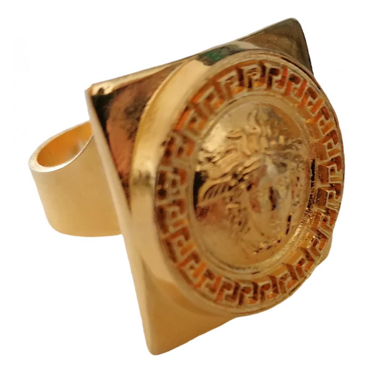 Gianni Versace - Bague   pour femme en metal - dore