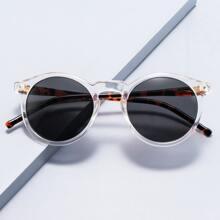 Clear Acrylic Frame Sunglasses