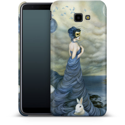 Samsung Galaxy J4 Plus Smartphone Huelle - Where Time Beckons the Wicked von Dan May
