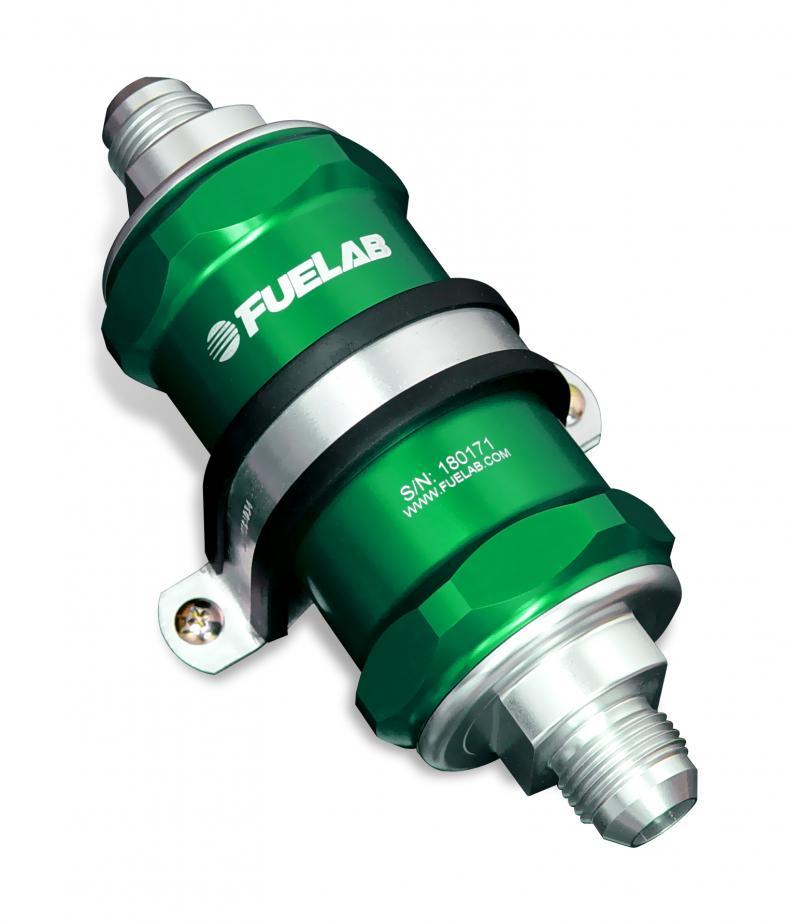 Fuelab 81800-6-10-12 In-Line Fuel Filter