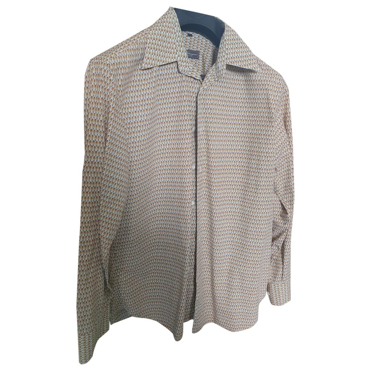 Salvatore Ferragamo - Chemises   pour homme en coton