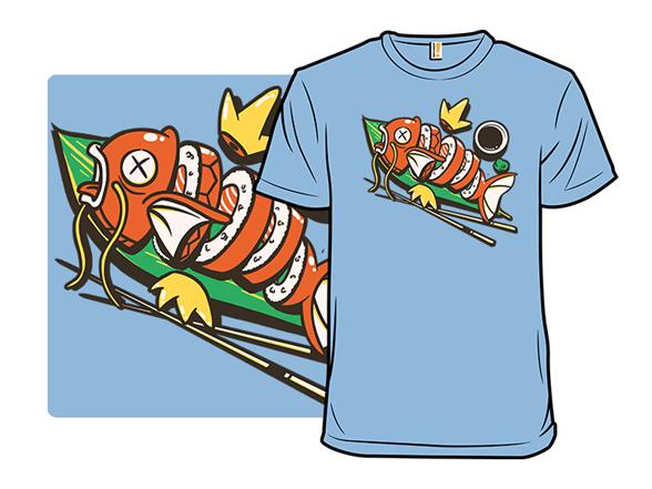 Sushi Karp T Shirt