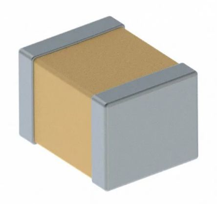 KEMET 1210 (3225M) 100nF Multilayer Ceramic Capacitor MLCC 500V dc ±10% SMD C1210C104KCRACTU (20)