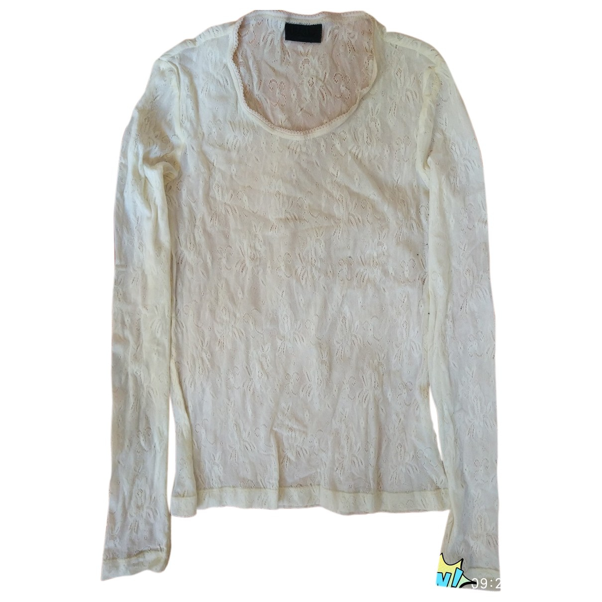 D&g N White  top for Women One Size IT