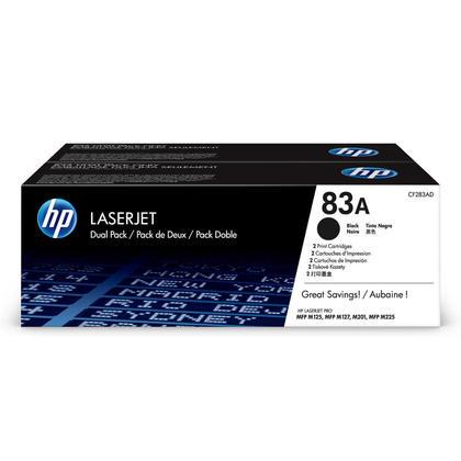 HP LaserJet Pro M201dw Original Black Toner Cartridge, 2 Pack