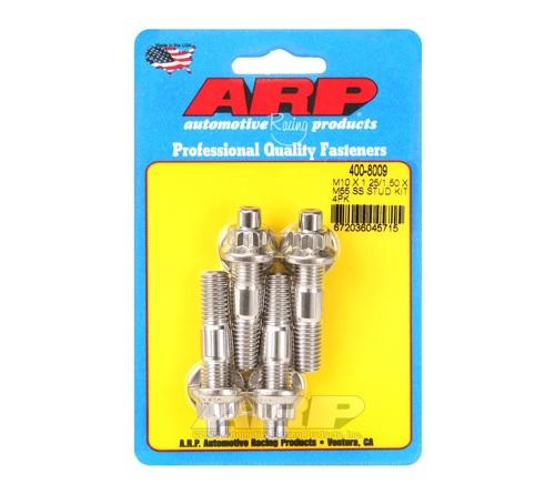 ARP M10 X 1.25/1.50 X 55mm Broached Stud Kit (4 pcs)