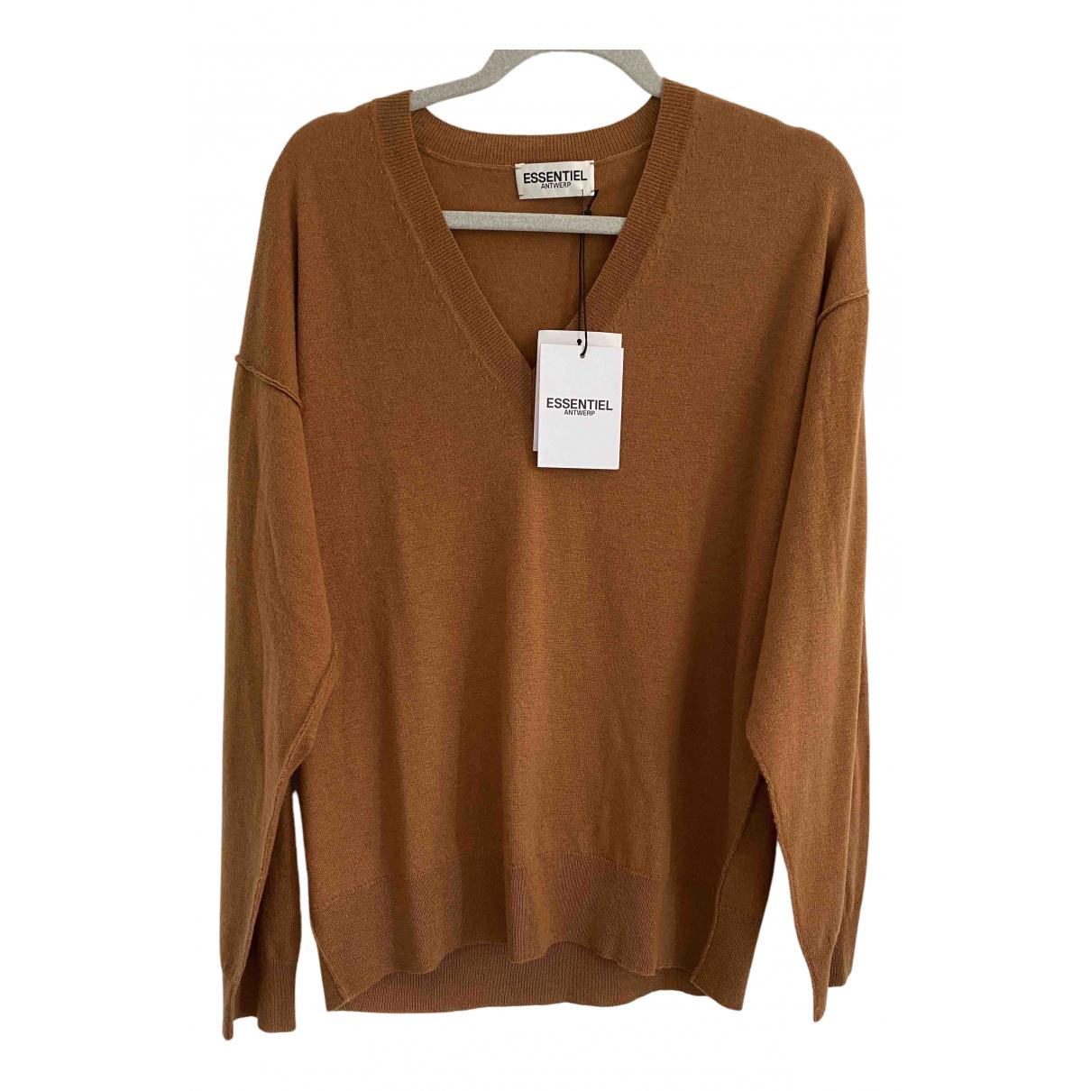 Essentiel Antwerp \N Pullover.Westen.Sweatshirts  Braun