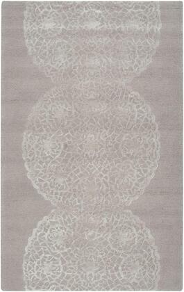 DIMDI245544370305 Dimensions DI2455-3' x 5' Hand-Tufted New Zealand Wool Blend Rug in Light Brown  Rectangle