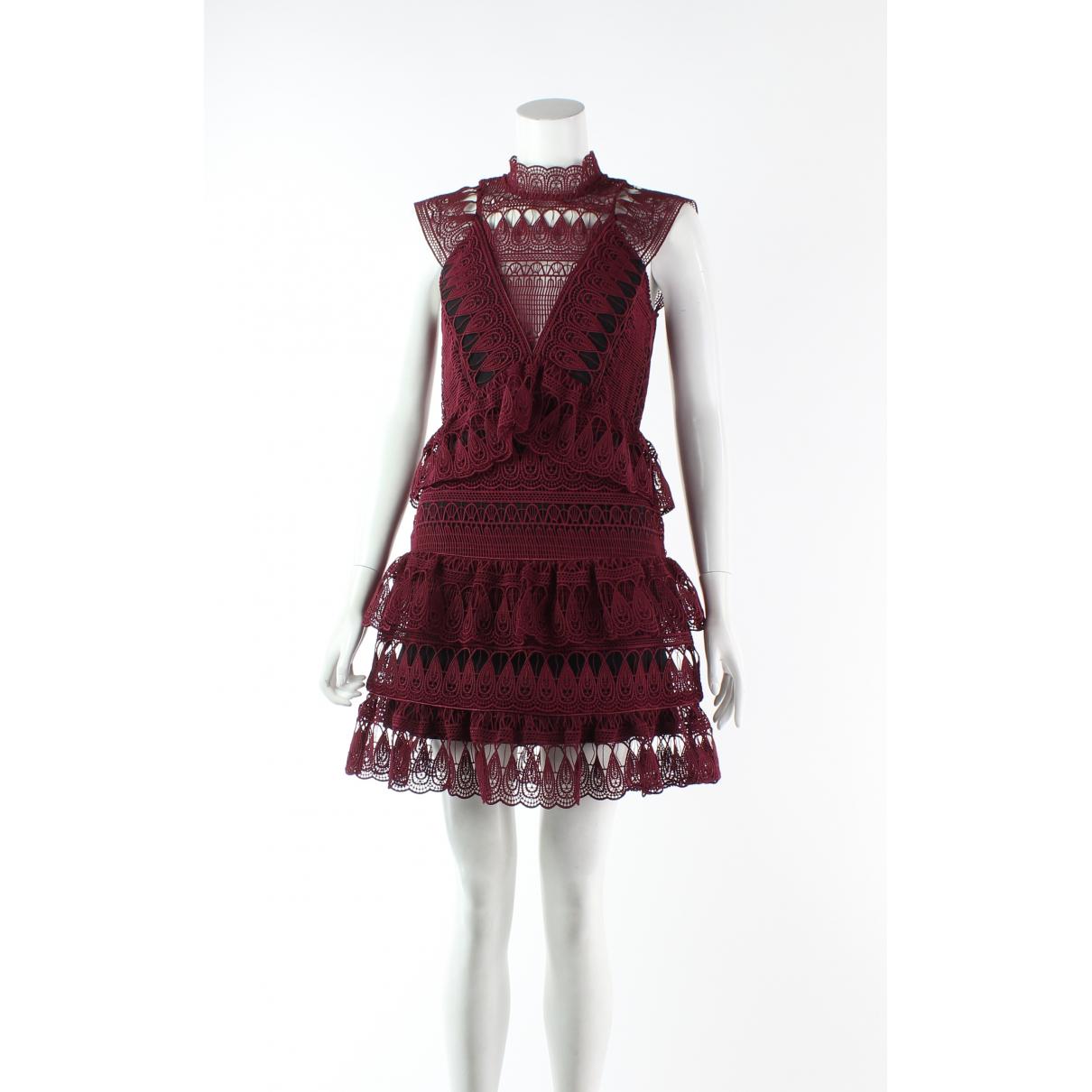 Autre Marque N Brown Cotton dress for Women 6 UK