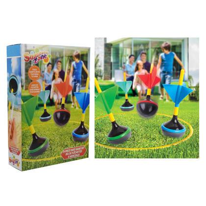 Jeu extérieur de dard de pelouse pour la famille et les enfants, 6pcs / paquet