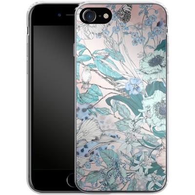 Apple iPhone 8 Silikon Handyhuelle - Make Me Blush von Stephanie Breeze