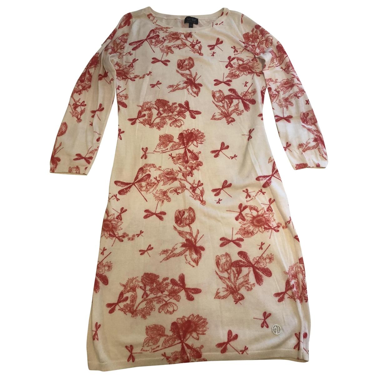 Armani Jeans \N Multicolour Cotton dress for Women 40 IT