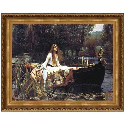DA1981 17X14.5 Lady Of Shallot
