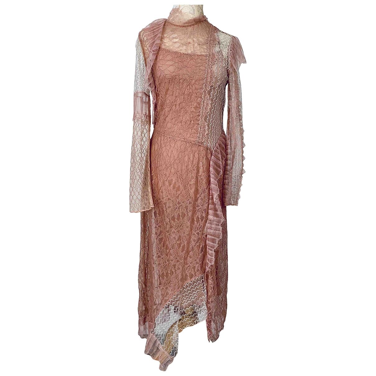 3.1 Phillip Lim \N Kleid in  Rosa Spitze