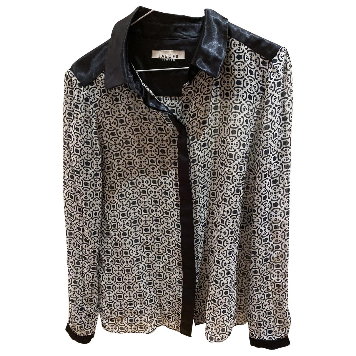 Jaeger \N Navy Silk  top for Women S International