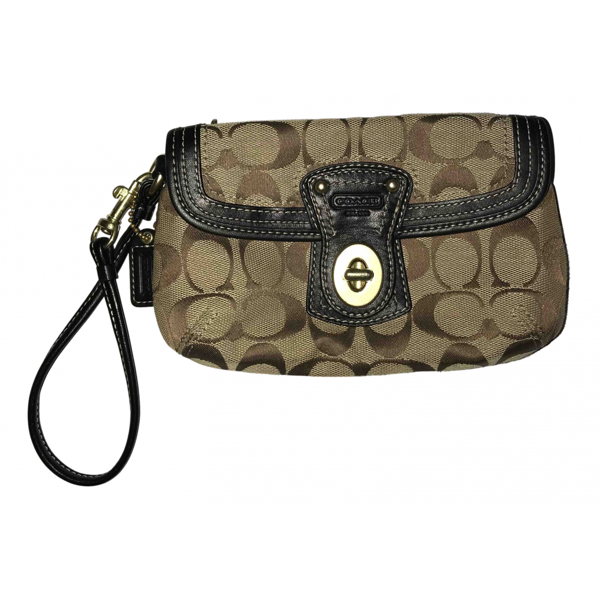 Coach N Brown Clutch bag for Women N