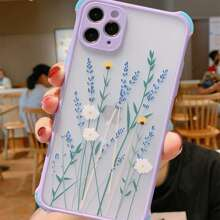 Floral Frosted iPhone Case