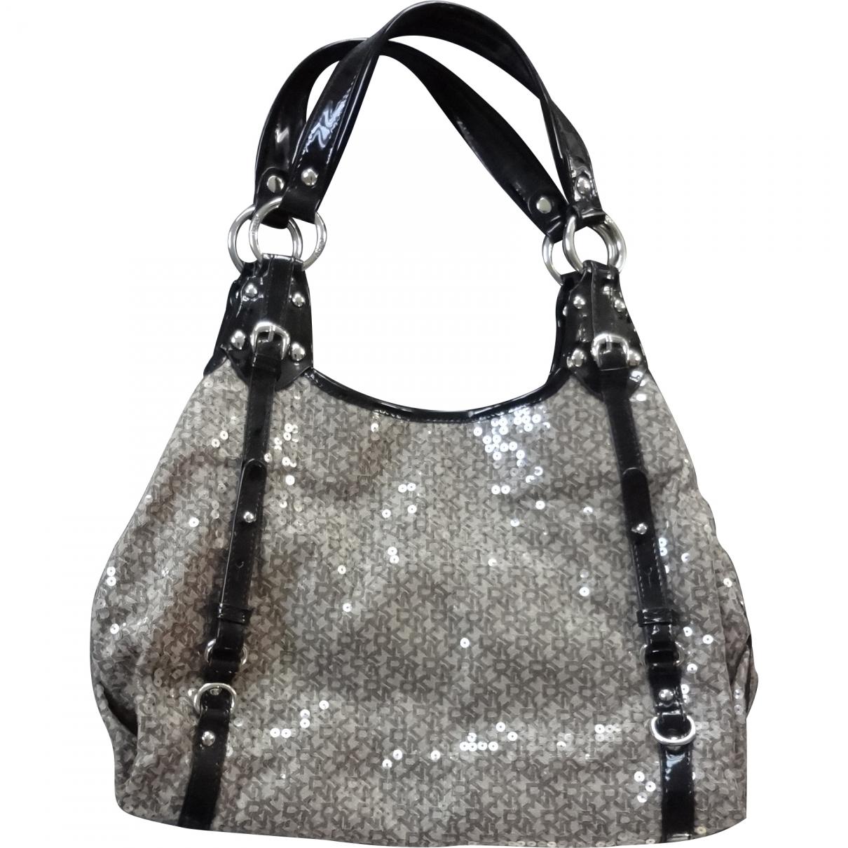 Dkny \N Beige Glitter handbag for Women \N