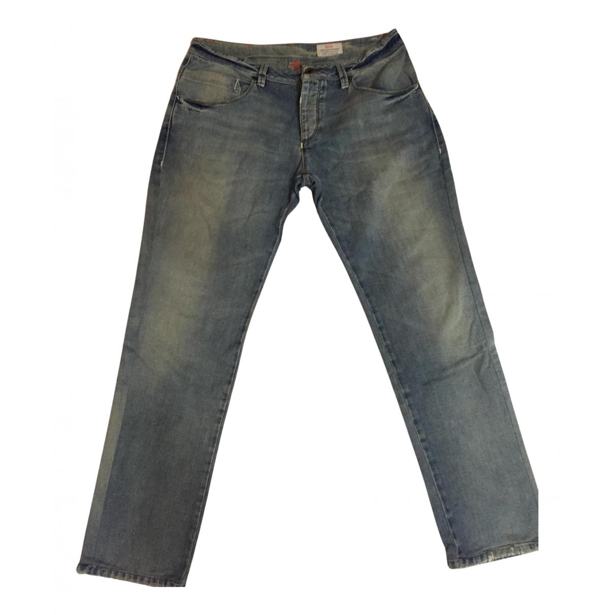 Boss N Blue Cotton Jeans for Men 36 US