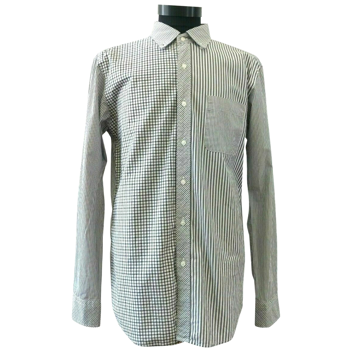 Uniqlo \N Blue Cotton Shirts for Men M International