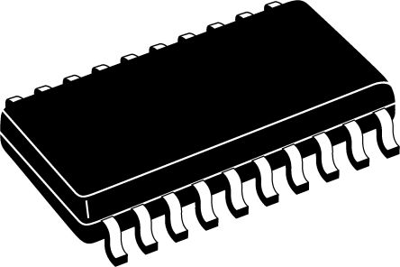 Analog Devices AD7812YRZ, 10-bit Serial ADC Pseudo Differential, Single Ended Input, 20-Pin SOIC W