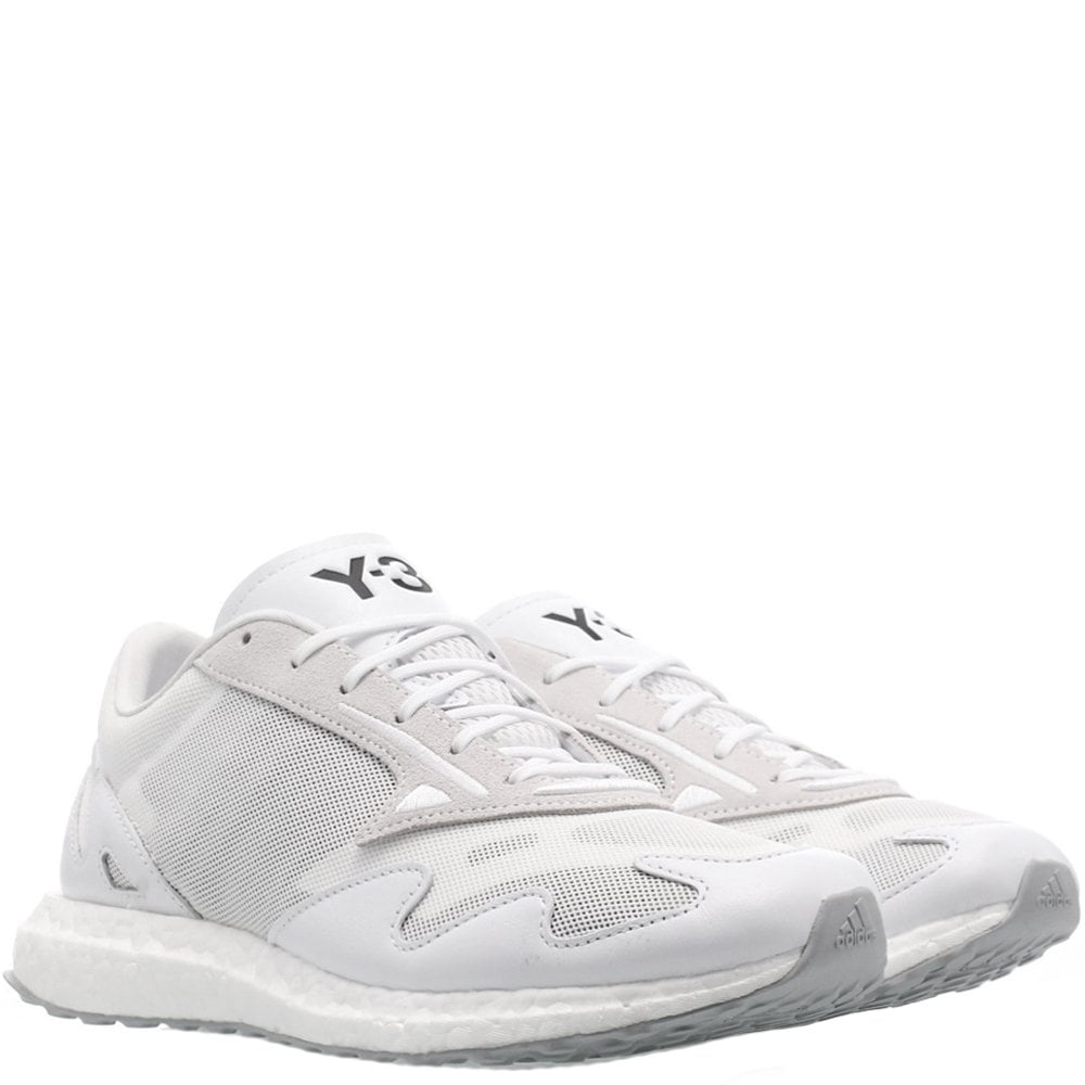 Y-3 Rhisu Run Trainers White Colour: BLACK, Size: 6.5