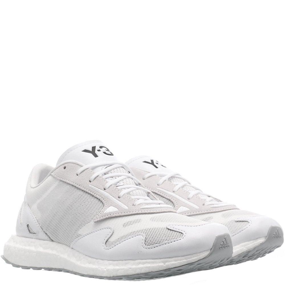Y-3 Rhisu Run Trainers White Colour: BLACK, Size: 6.5