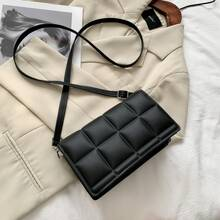 Quilted Flap Crossbody Bag