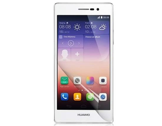 Ultra Clear LCD Screen Protector for HUAWEI P7 - Transparent