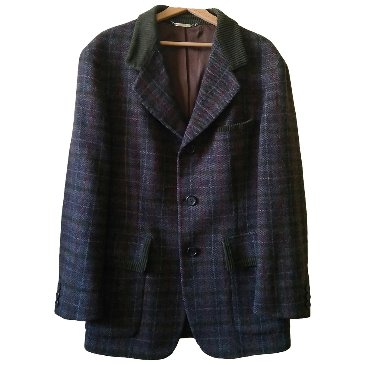 Dolce & Gabbana \N Jacke in  Gruen Wolle