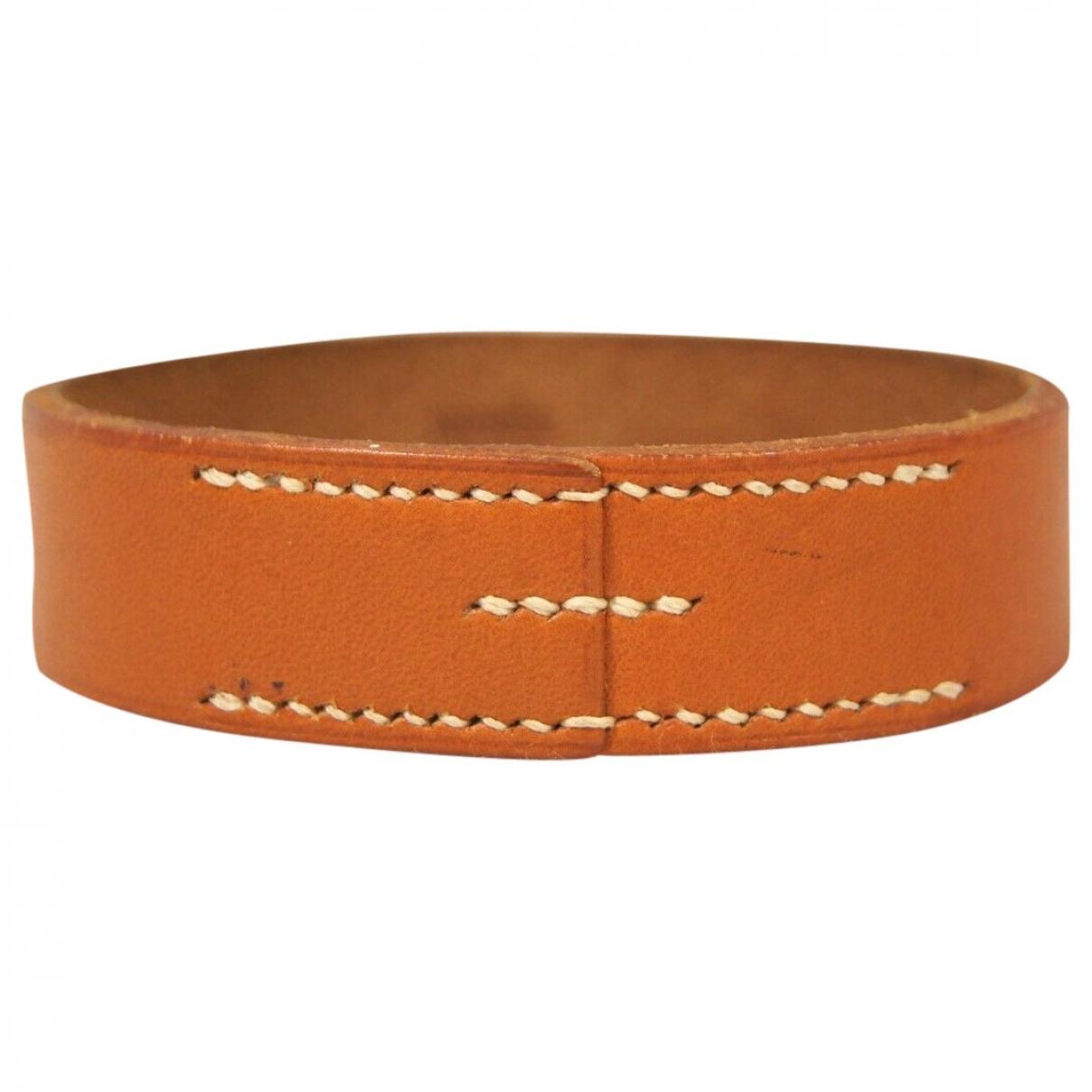 Hermes \N Armband in  Kamel Leder