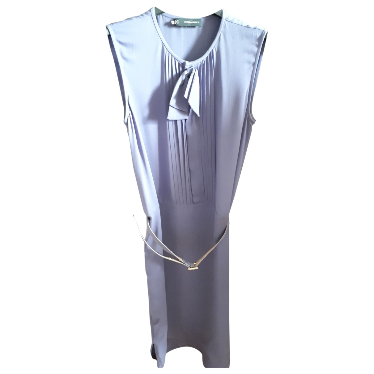 Dsquared2 - Robe   pour femme en soie - violet