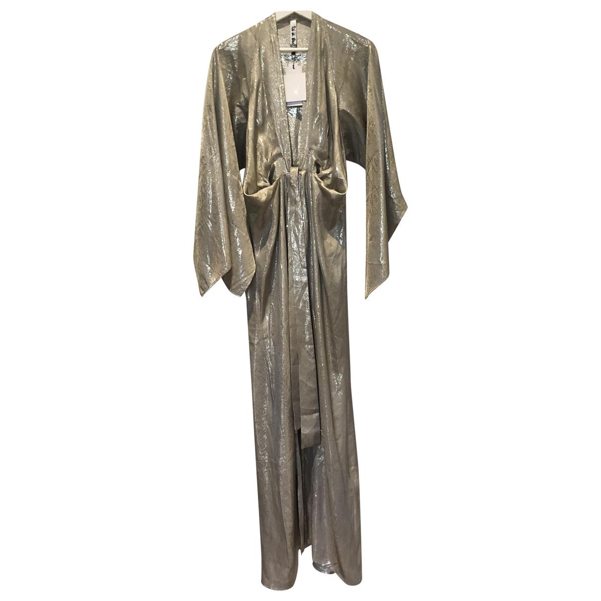 Rat & Boa - Robe   pour femme en soie - metallise