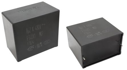 Vishay 680nF Polypropylene Capacitor PP 480V ac ±20% Tolerance Through Hole F340X1 Series (80)