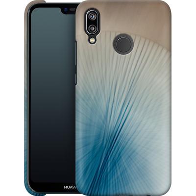 Huawei P20 Lite Smartphone Huelle - Blue Lines 2 von Joy StClaire