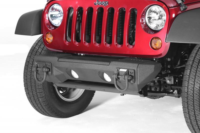 Rugged Ridge 11542.23 All Terrain Stubby Bumper End Kit; 07-18 Jeep Wrangler JK Jeep Wrangler 2007-2018