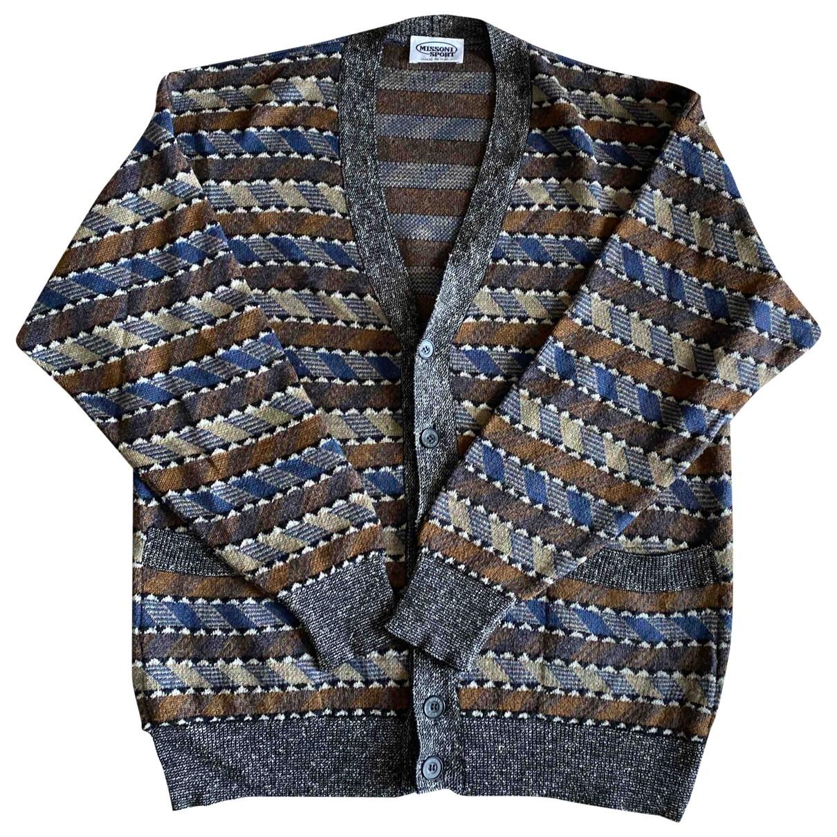 Missoni - Pulls.Gilets.Sweats   pour homme en laine - multicolore