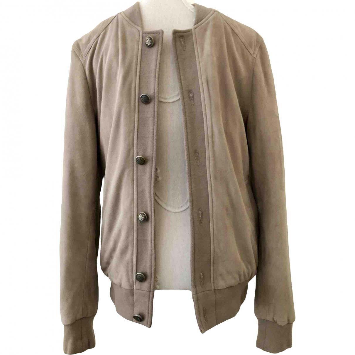 Zara - Vestes.Blousons   pour homme en suede - beige