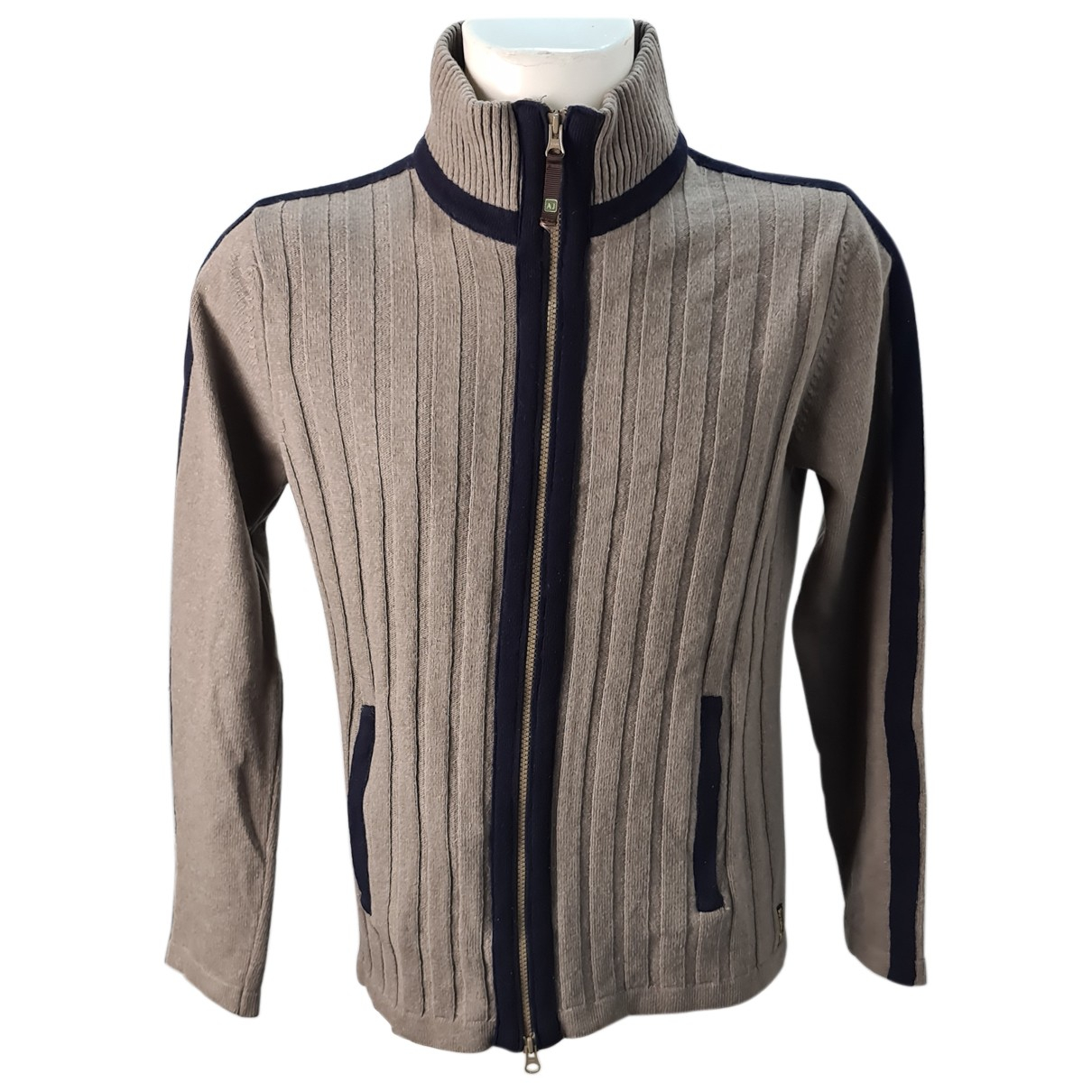 Armani Jean - Pulls.Gilets.Sweats   pour homme en laine - camel
