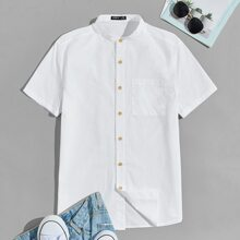 Hemd mit Taschen Flicken