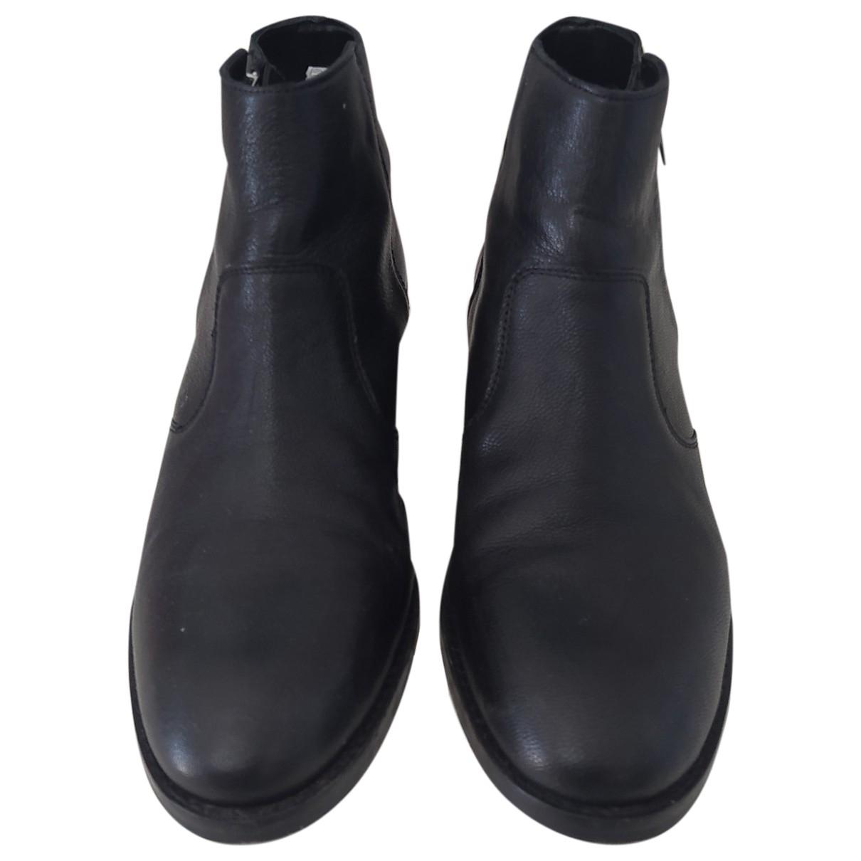 Asos \N Stiefeletten in  Schwarz Leder