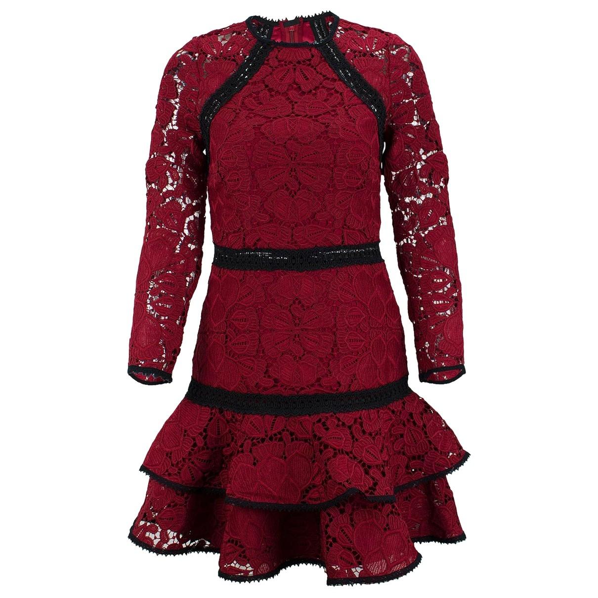 Alexis \N Kleid in  Rot Synthetik