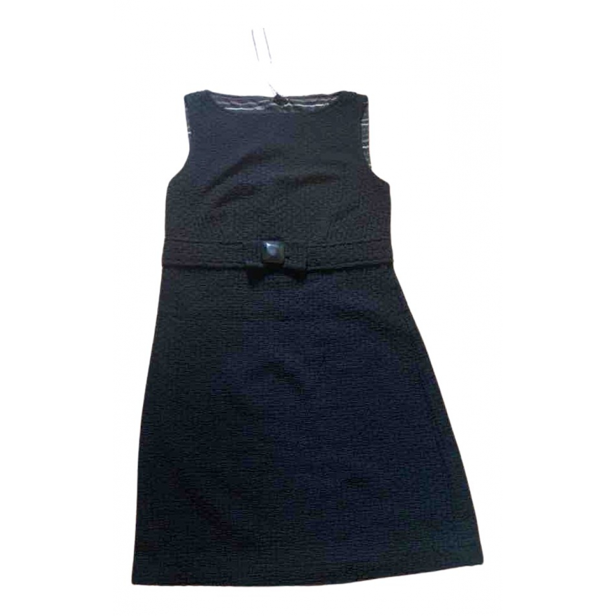 Maliparmi \N Kleid in  Schwarz Baumwolle