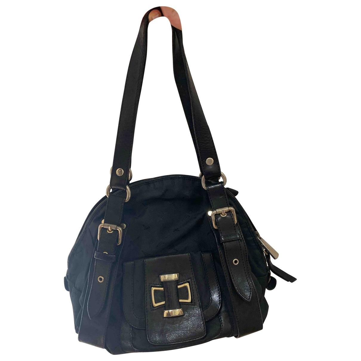 Cesare Paciotti \N Handtasche in  Schwarz Leder