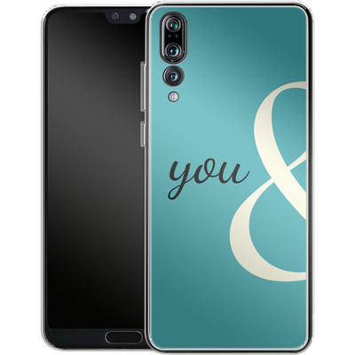 Huawei P20 Pro Silikon Handyhuelle - You And von caseable Designs