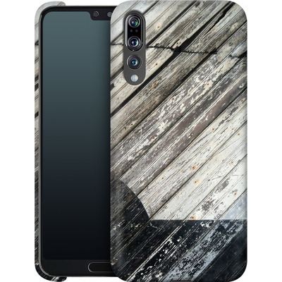 Huawei P20 Pro Smartphone Huelle - Diagonal Wood von Brent Williams