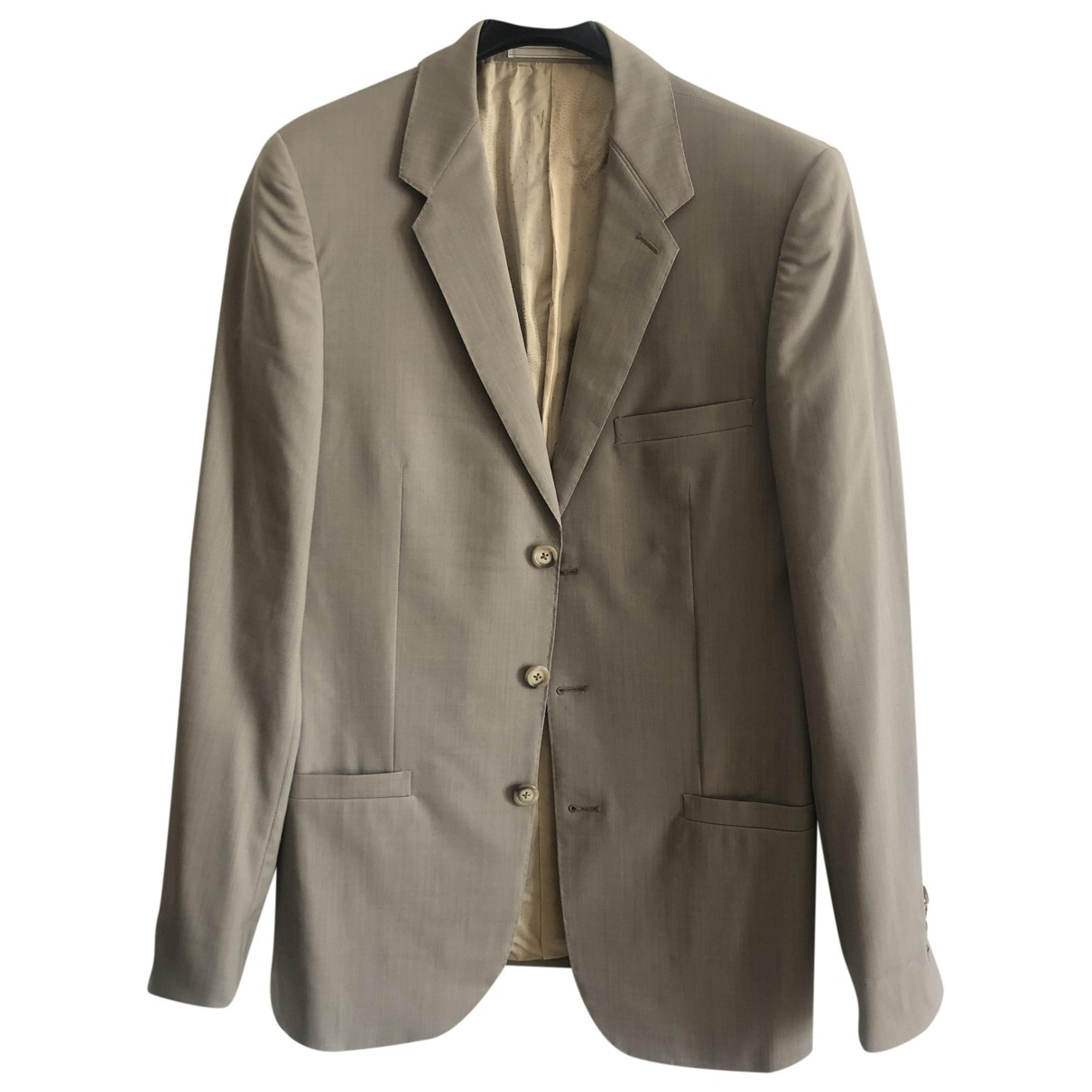 Gianni Versace - Vestes.Blousons   pour homme en laine - gris
