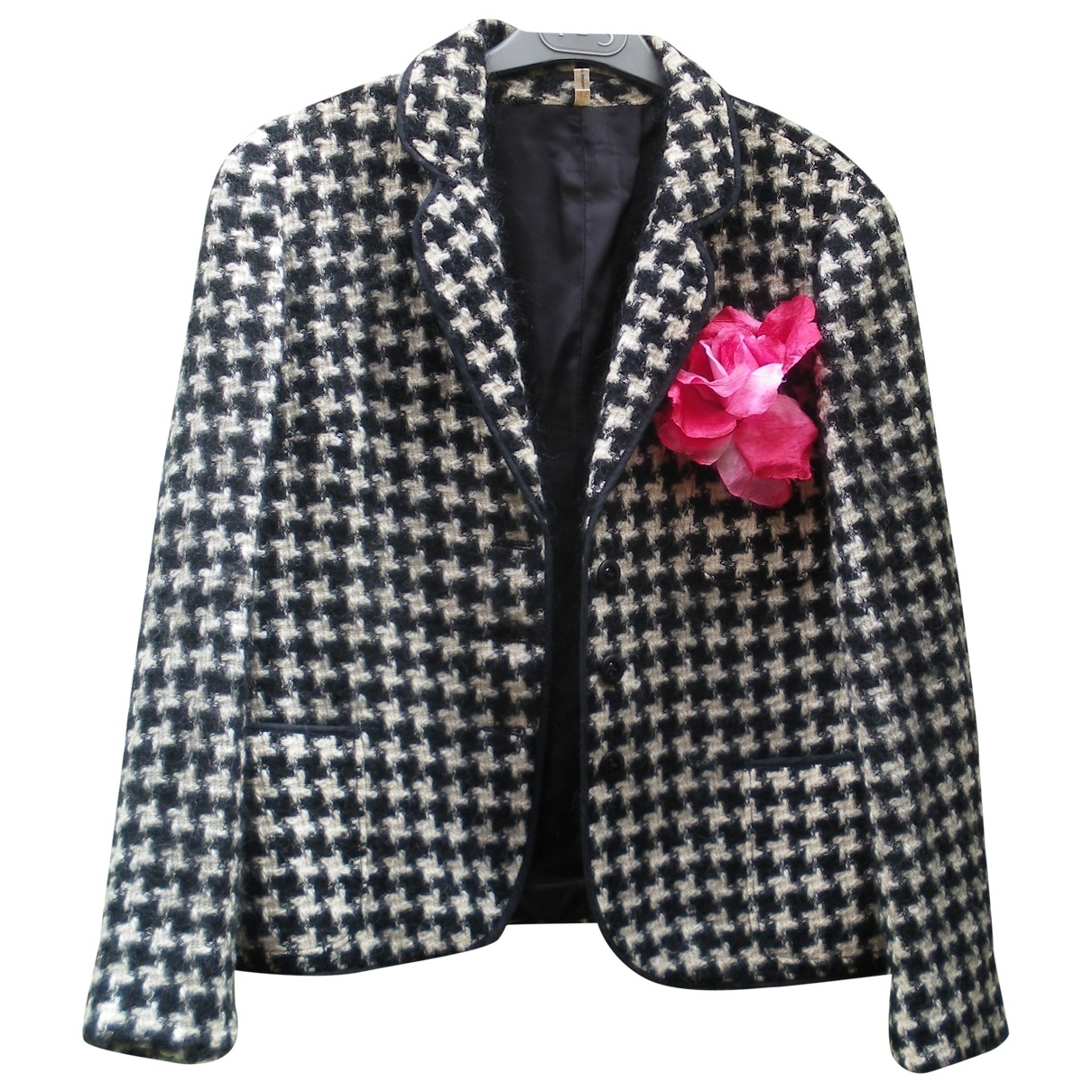 Non Signé / Unsigned \N Multicolour Wool jacket for Women 42 FR