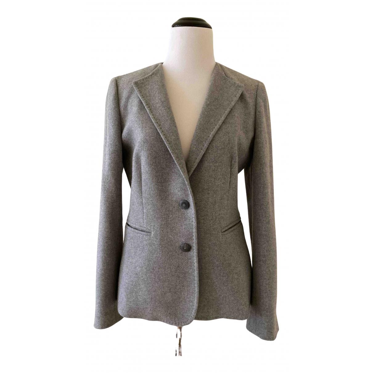 Max Mara - Veste   pour femme en cachemire - gris